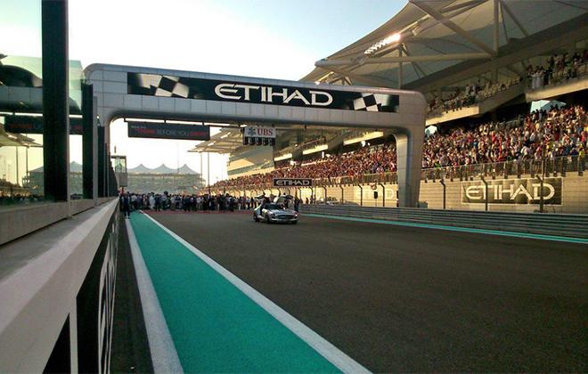 Стартовая решётка Гран-при Абу-Даби