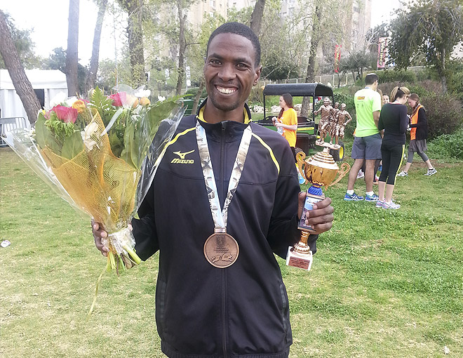 Джон Кипкорир Мутай – бронзовый призёр Иерусалимского марафона