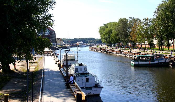 Вид с моста на старый порт
