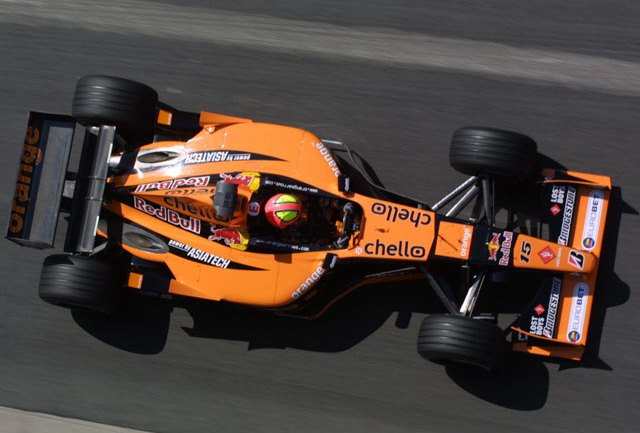 Энрике Бернольди на Гран-при Монако