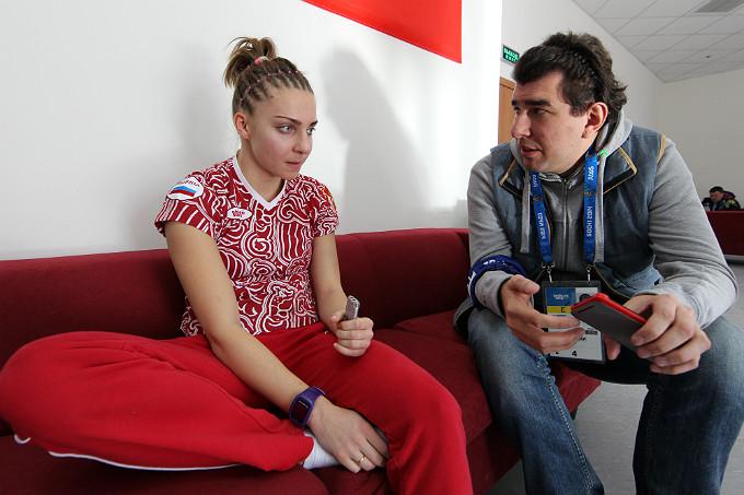 Елена Никитина и Лев Савари