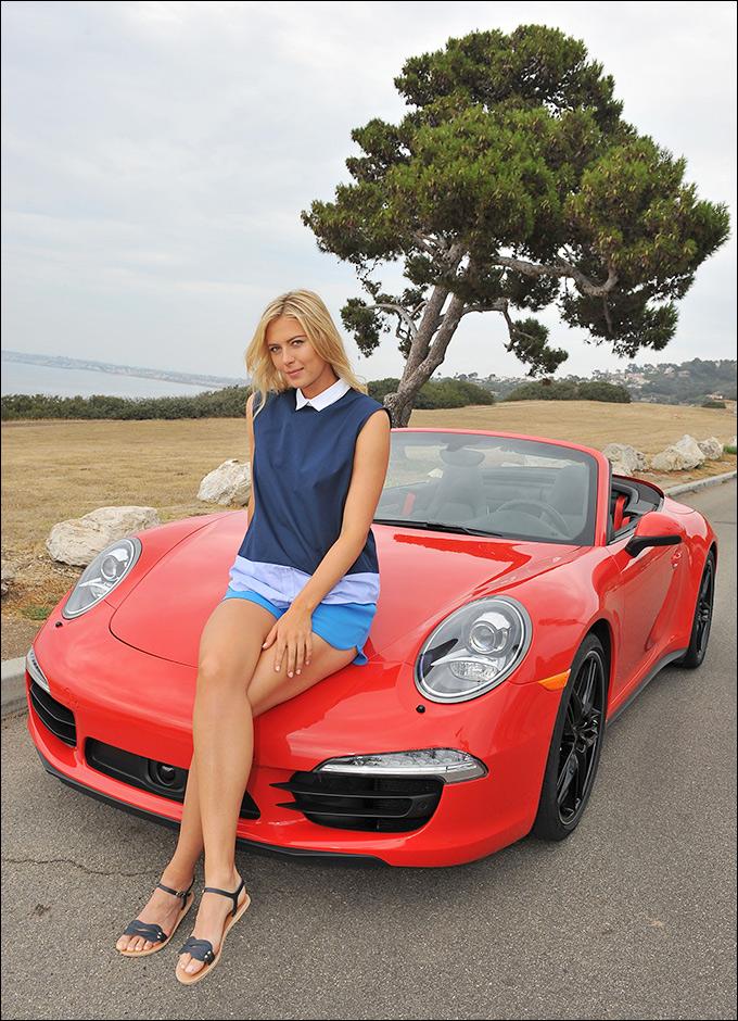 Мария Шарапова снялась в рекламной фотосессии