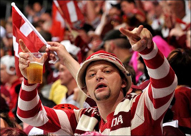 10.05.2010. ЧМ-2010. Канада - Латвия - 6:1. Фото 03.