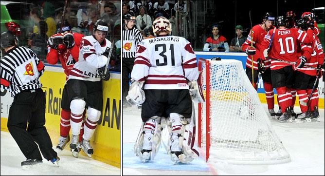 10.05.2010. ЧМ-2010. Канада - Латвия - 6:1. Фото 04.