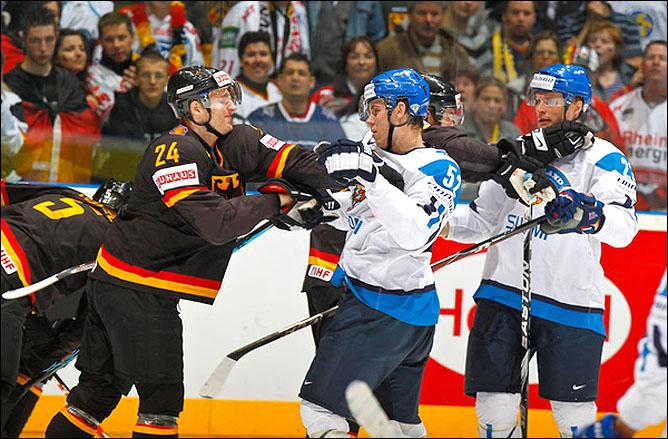 10.05.2010. ЧМ-2010. Германия - Финляндия - 0:1. Фото 01.