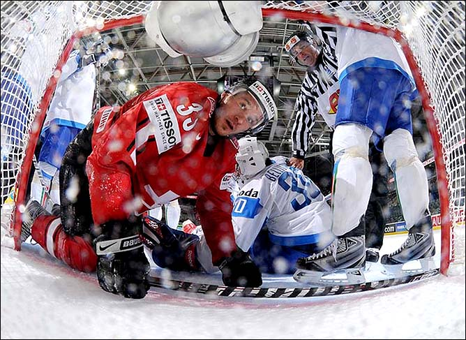 10.05.2010. ЧМ-2010. Швейцария - Италия - 3:0. Фото 01.