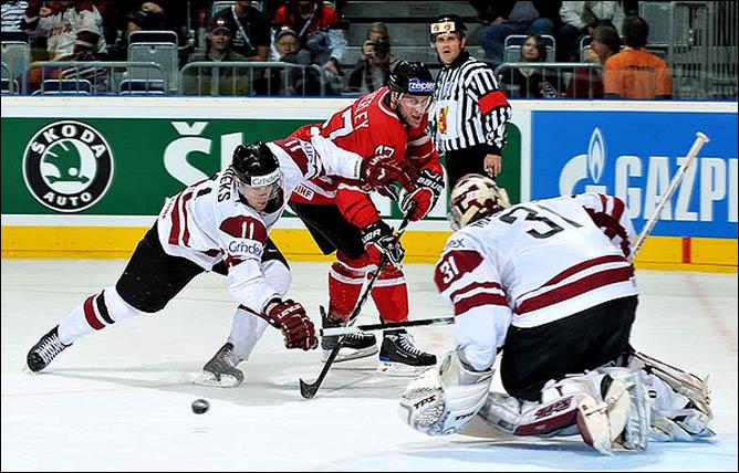 10.05.2010. ЧМ-2010. Канада - Латвия - 6:1. Фото 06.