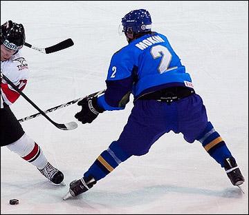 Никита Мокин в молодёжной сборной Казахстана
