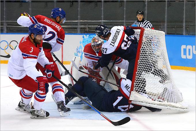 Чехия и Словакия подарили хоккейный спектакль