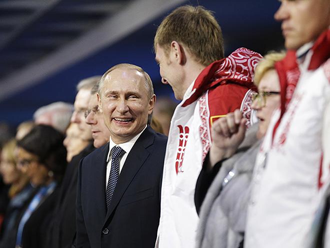 Владимир Путин и Александр Зубков