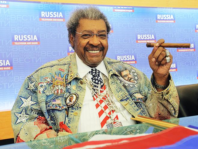 Дон Кинг примет участие в пресс-конференции Лебедев — Джонс
