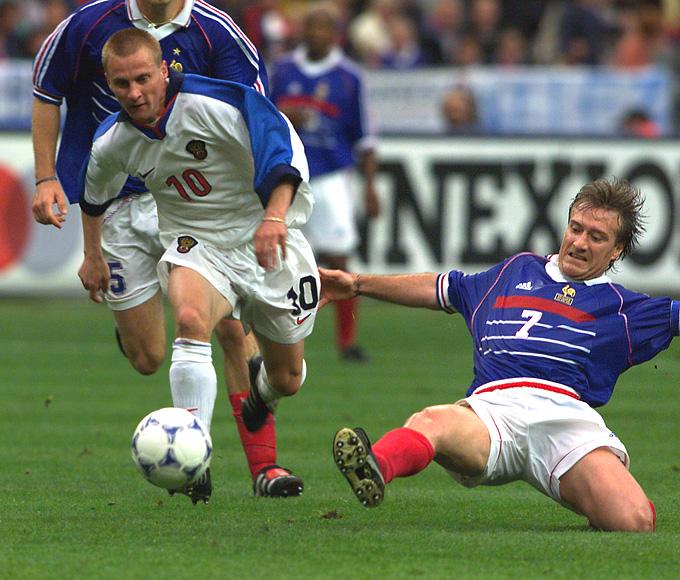 Александр Панов в легендарном матче против сборной Франции