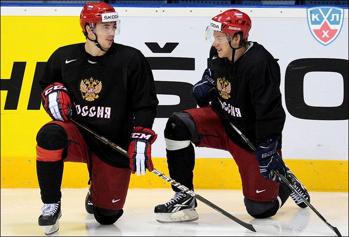 Алексей Емелин и Владимир Тарасенко