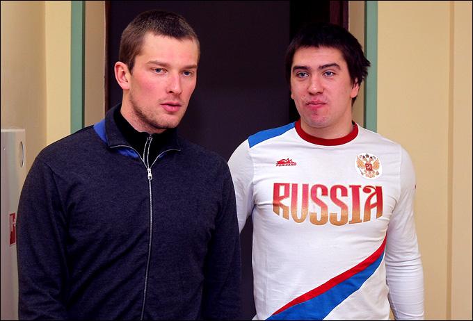 Михаил Бирюков и Илья Зубов