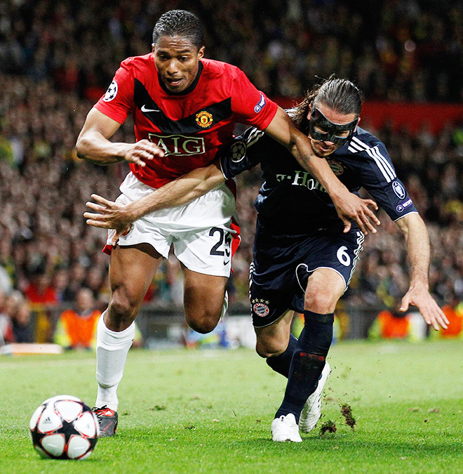 7.04.2010. Лига чемпионов. ¼ финала. «Манчестер Юнайтед» — «Бавария» — 3:2
