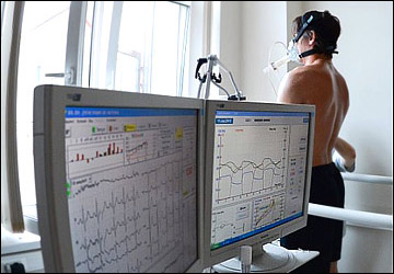 Медицинский осмотр в ХК СКА