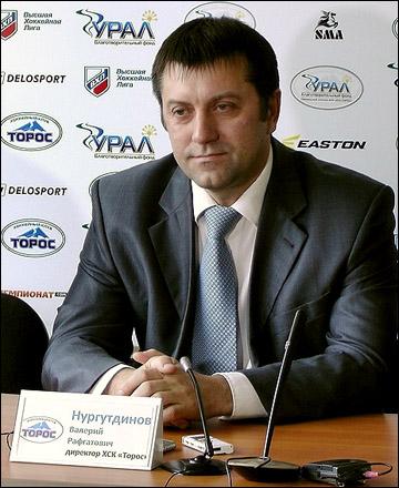 """Директор """"Тороса"""" Валерий Нургутдинов"""