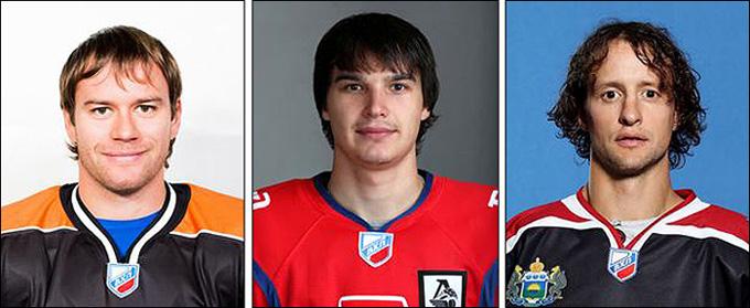 Слева направо: Сергей Тополь, Рафаэль Ахметов, Дарси Веро