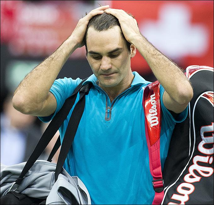 Роджер Федерер не защитил титул в Роттердаме