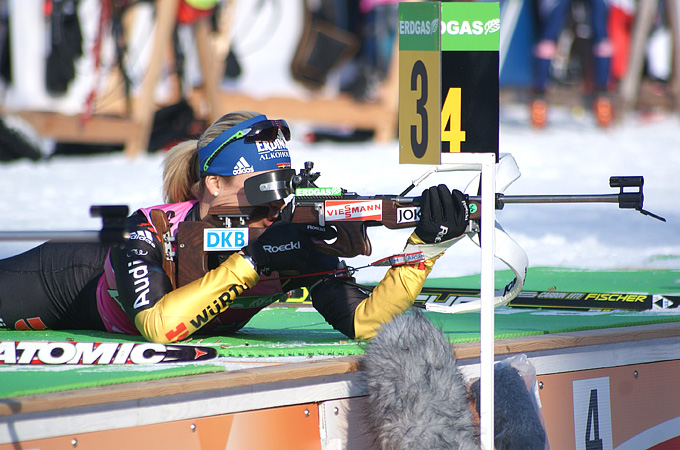 Магдалена Нойнер на официальной тренировке