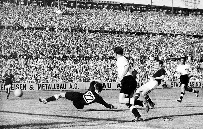 Финал ЧМ-1954. ФРГ – Венгрия