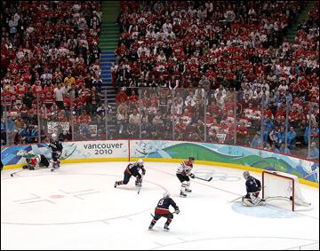 Гол Сидни Кросби в овертайме финального матча Олимпиады-2010