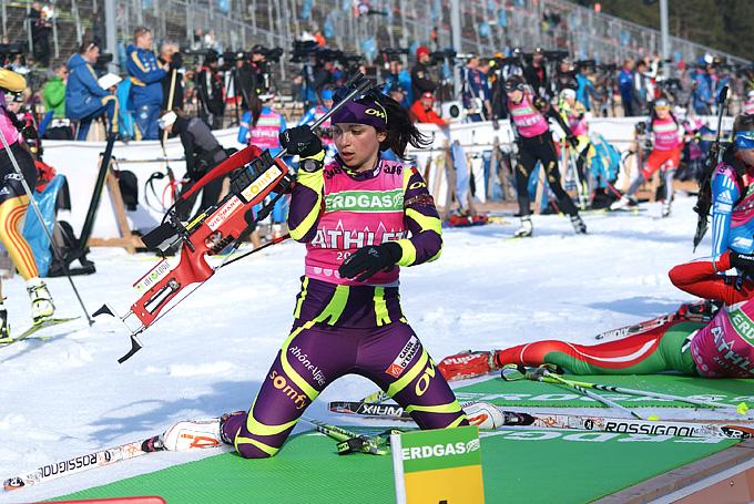 Восходящая звезда сборной Франции Софи Буайе