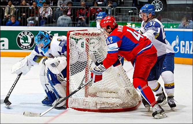 11.05.2010. ЧМ-2010. Россия - Казахстан - 4:1. Фото 01.