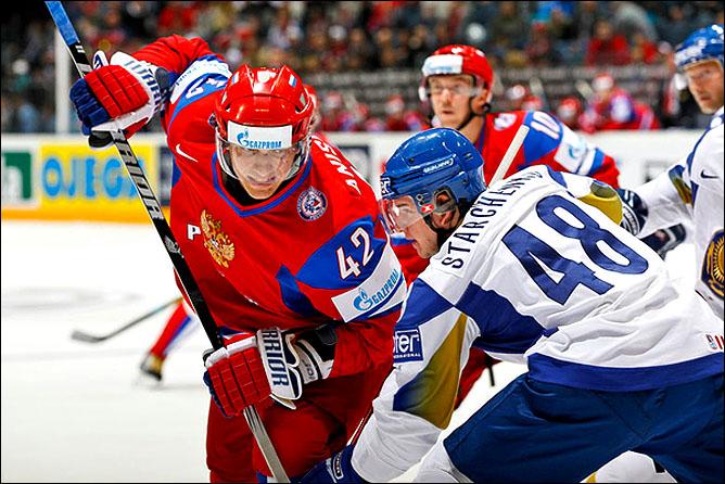 11.05.2010. ЧМ-2010. Россия - Казахстан - 4:1. Фото 05.