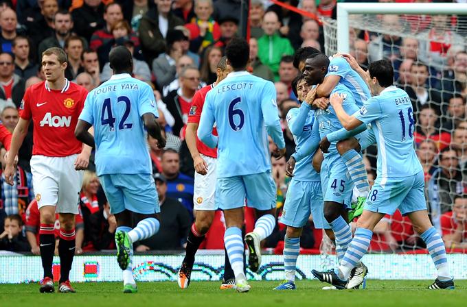 """23 октября 2011 года, """"Олд Траффорд"""". """"Манчестер Юнайтед"""" — """"Манчестер Сити"""" — 1:6."""