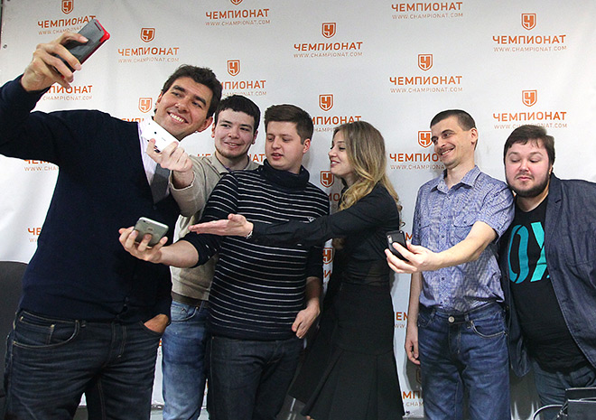 Анна Чакветадзе в редакции «Чемпионата»
