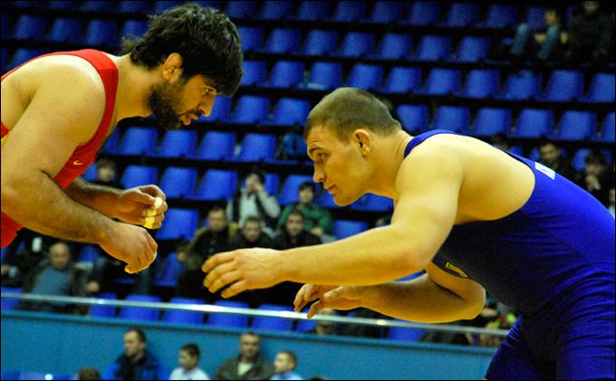 Украинкий финал в категории до 120 кг: Ален Засеев против Александра Хоцяновского