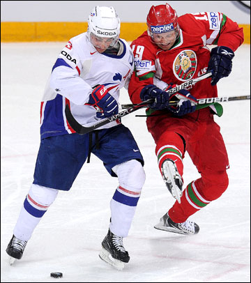 Дмитрий Мелешко против сборной Франции