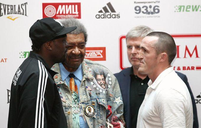 Джонс и Лебедев вновь встретились лицом к лицу