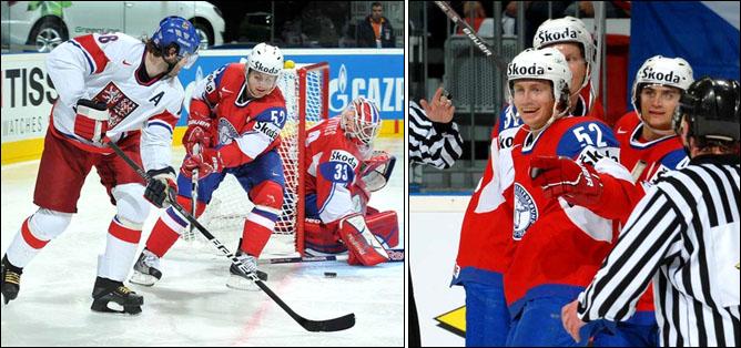 11.05.2010. ЧМ-2010. Чехия - Норвегия - 2:3. Фото 01.