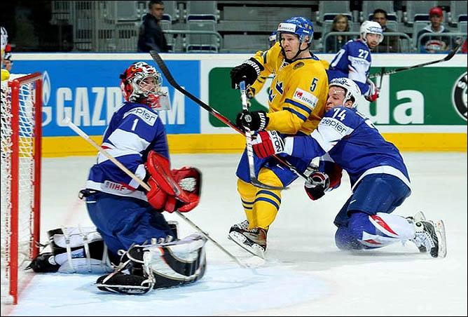 11.05.2010. ЧМ-2010. Швеция - Франция - 3:2. Фото 01.