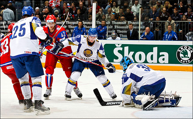 11.05.2010. ЧМ-2010. Россия - Казахстан - 4:1. Фото 07.
