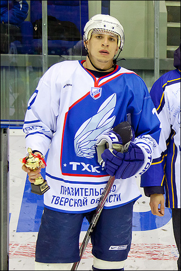 Михаил Потякин — лучший игрок матча в Усть-Каменогорске