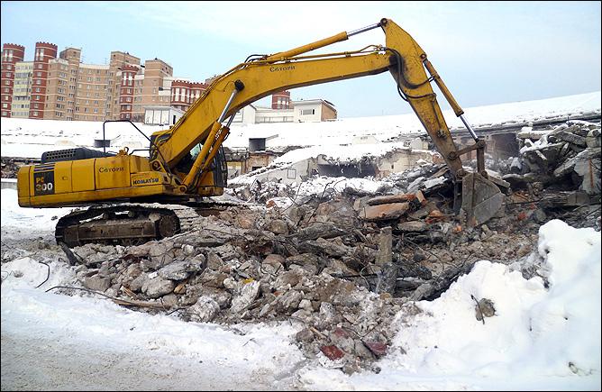 "Стадион ""Динамо"". 27 января 2011 года"