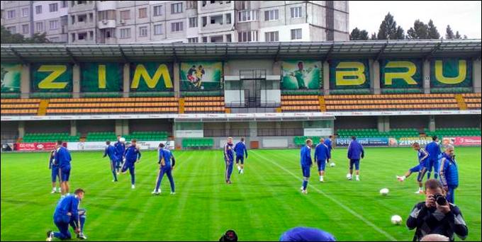 """Стадион """"Зимбру"""" примет в пятницу 10 500 зрителей (Фото: Чемпионат.сом)"""