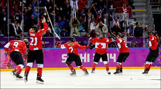 Канадки — четырёхкратные олимпийские чемпионы!