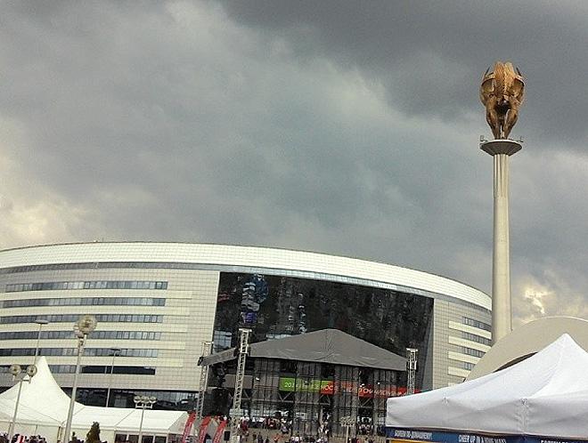 Погода в Минске на второй день ЧМ испортилась