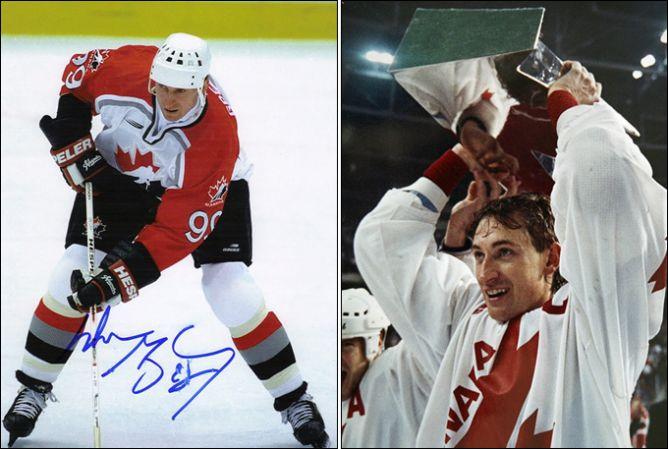 Уэйн Гретцки - многолетний капитан сборной Канады.