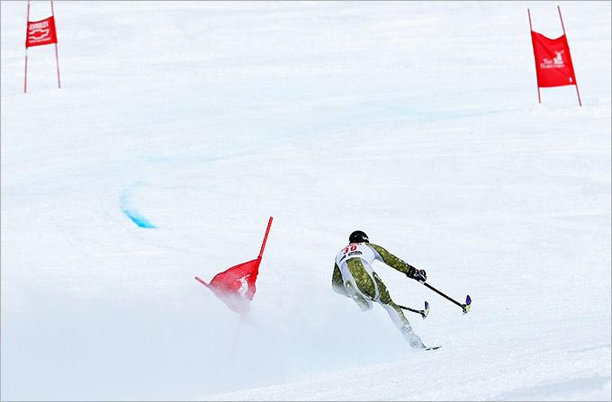Паралимпийская сборная России по горнолыжному спорту на домашней трассе будет претендовать на 7-10 медалей