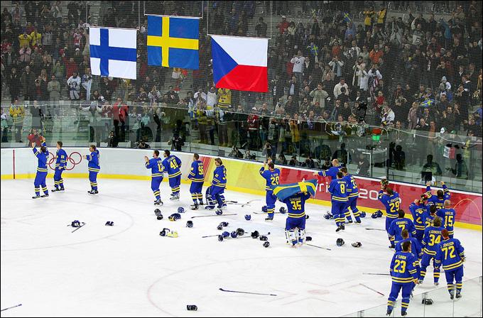 Сборная Швеции — олимпийский чемпион-2006