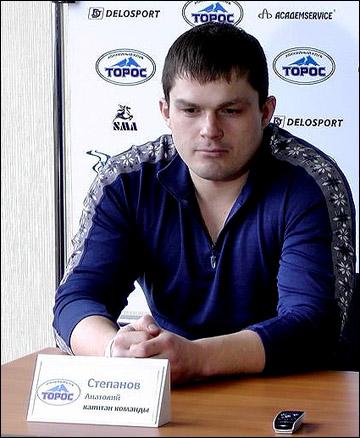 """Капитан """"Тороса"""" Анатолий Степанов"""
