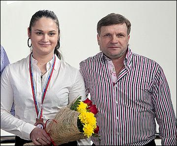 Сергей Трудаков и его воспитанница