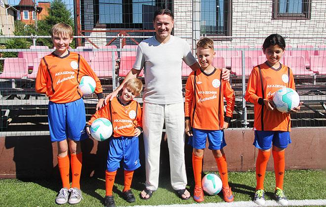 Школа футбола спартак детская