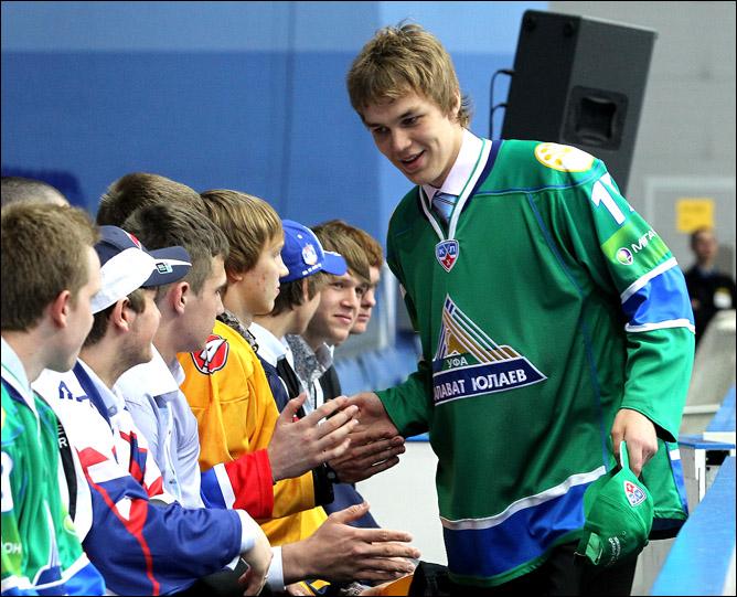 28 мая 2011 года. Мытищи. Драфт КХЛ.