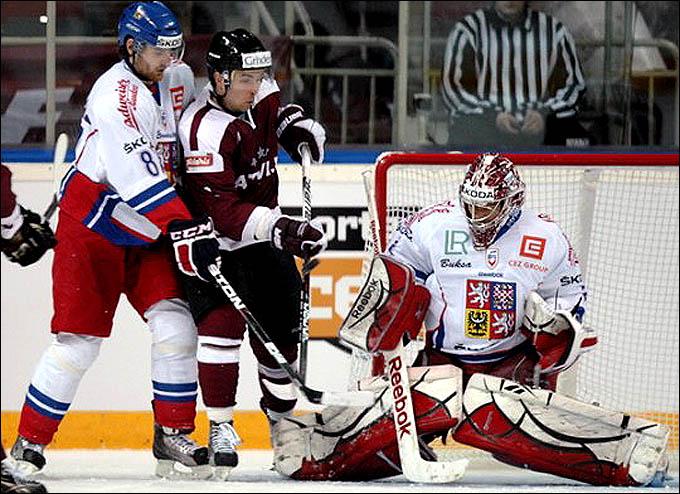 6 апреля 2012 года. Рига. Еврочеллендж. Латвия — Чехия — 3:4 (ПБ)